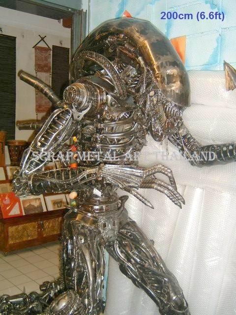 Alien Queen prop Statue Life Size Figure Sculpture Metal Replica for sale