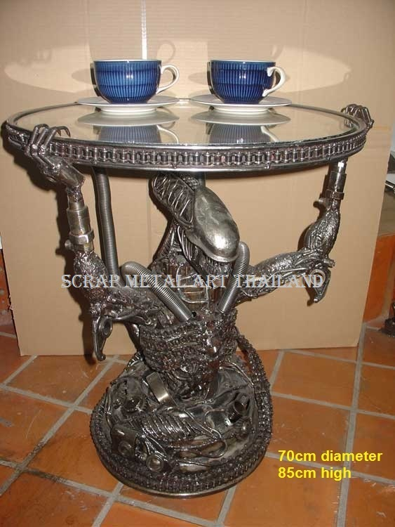 alien coffee table furniture art for sale