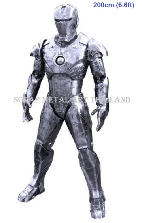 Iron Man figure statue sculpture for sale, life size metal sculpture replica
