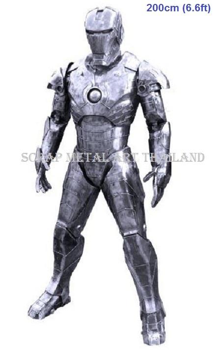 classic ironman figure statue sculpture replica full life size
