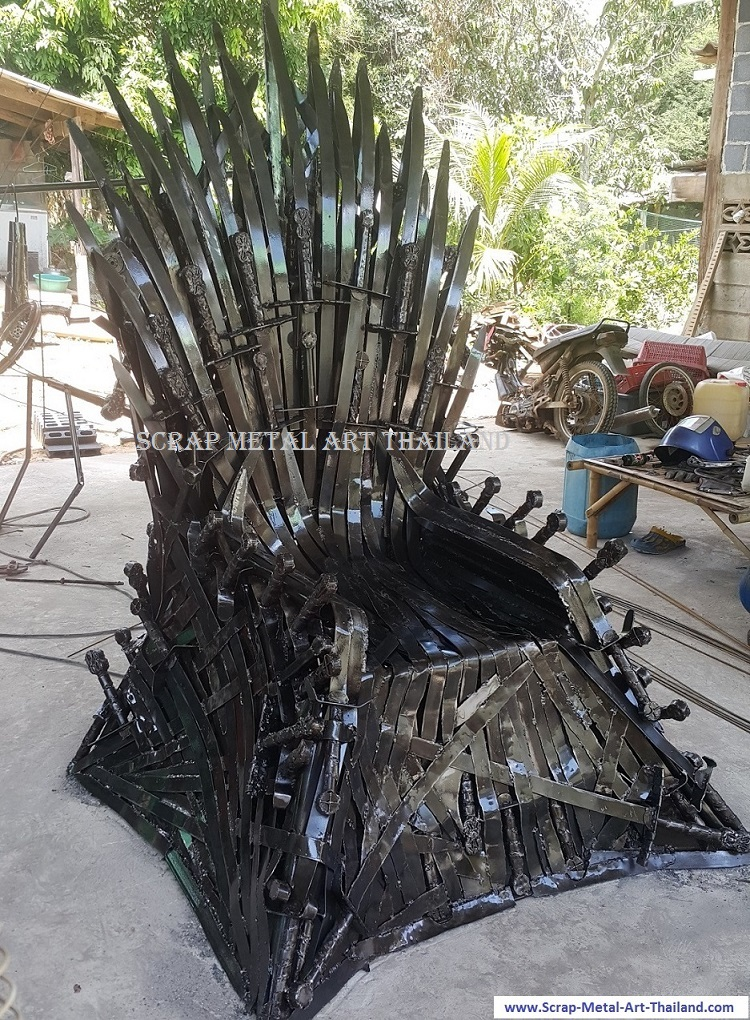 Iron Throne life size replica Game of Thrones, for sale