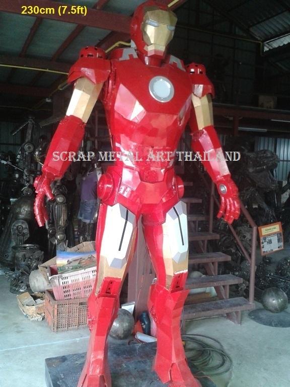 ironman figure statue sculpture replica full life size