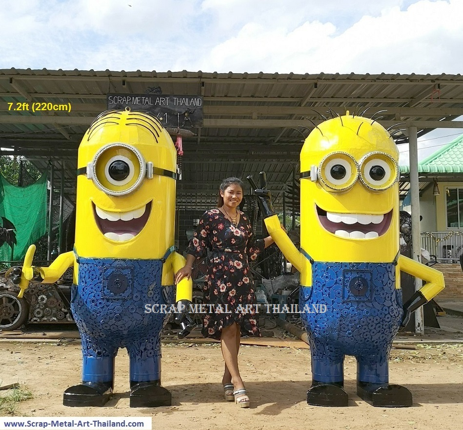 MINION statues sculptures for sale, life size metal Figure