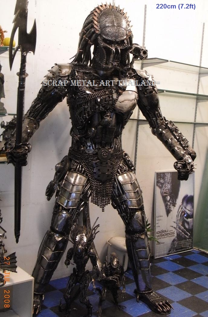 predator figure statue replica sculpture full life size for sale