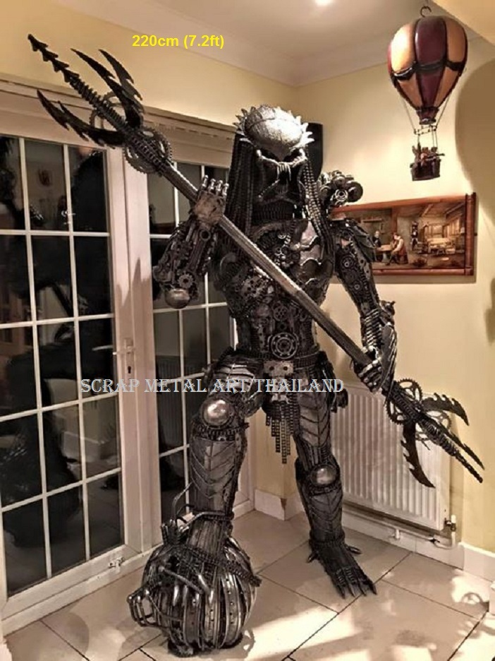 predator statue figure sculpture large life size 7ft