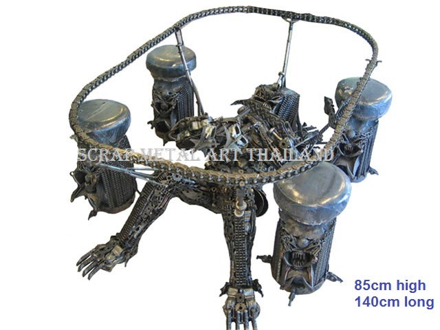 predator table furniture art for sale