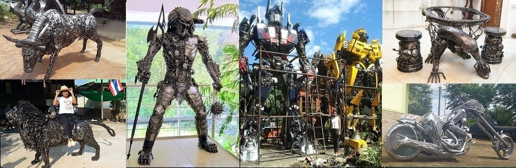 Scrap Metal Art Thailand
