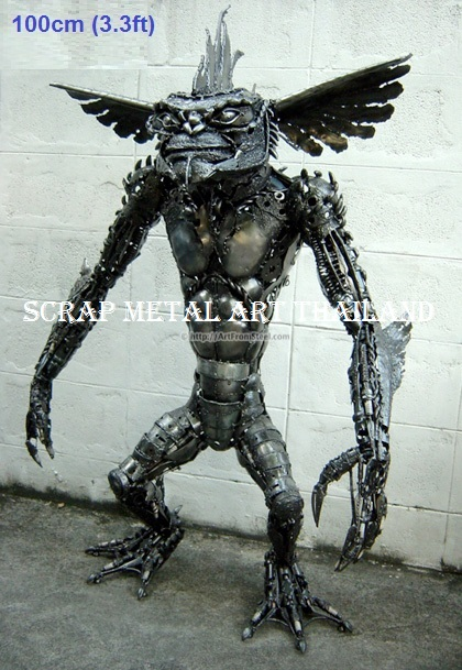 Star Wars Gremlin statue sculpture for sale, life size metal action figure