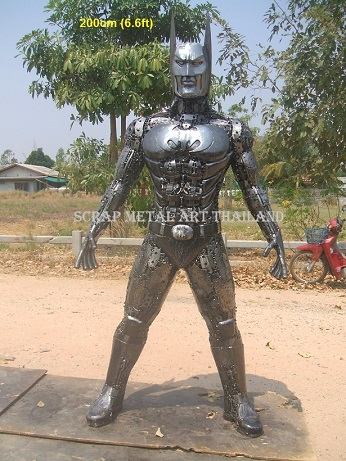 Batman Statues Sculptures for sale, life size metal figures