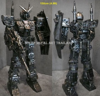 GUNDAM Statues Sculptures for sale, life size metal figures