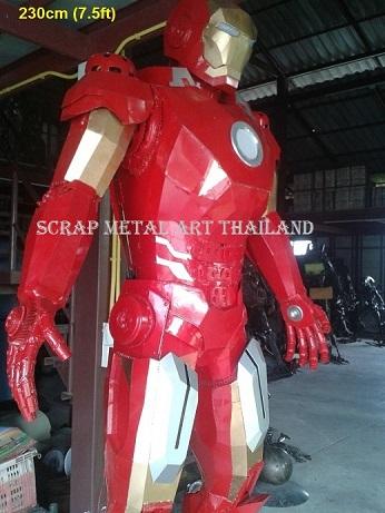 Iron Man Statues Replicas for sale, life size metal Figures Sculptures