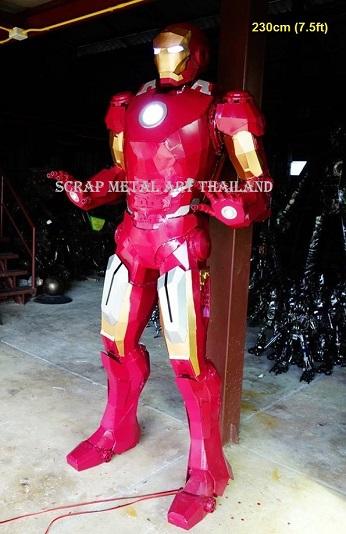 Iron Man Statues Sculptures for sale, life size metal Figures Replicas