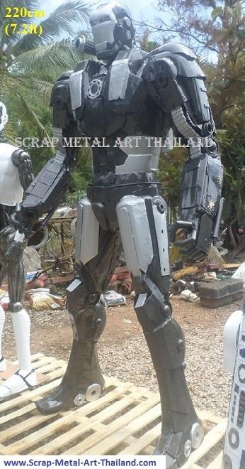 ironman war machine mark1 Statues Sculptures Replicas metal Figures for sale