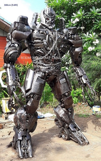 Megatron Transformers Statues Figures for sale Life Size Metal