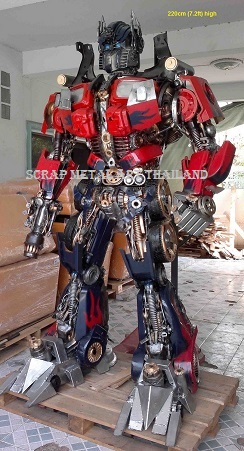 Optimus Prime Transformers Statues Figures for sale Life Size Metal
