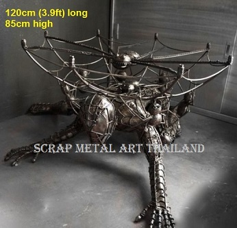Spider Man table for sale, life size metal Figures movie prop furniture