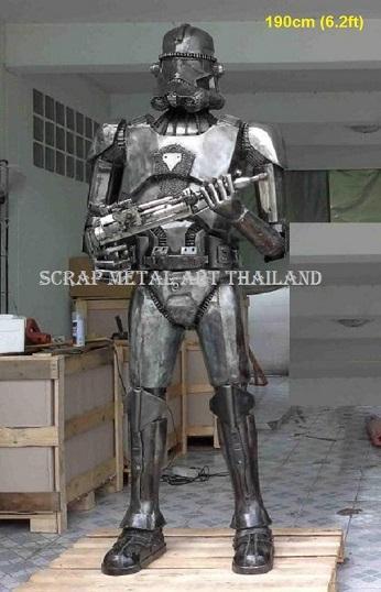 life size star wars stormtrooper statue sculpture replica figure full life size